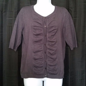 United States Sweaters Womens Top XL Gray Cardigan